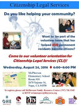 CLS volunteer orientation 8.24.16 ENG