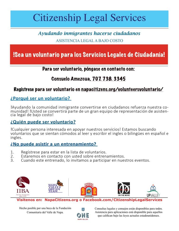 CLS_Volunteer Flyer Spa 2016-17