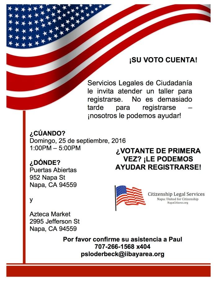 Voting Event Flyer-ES